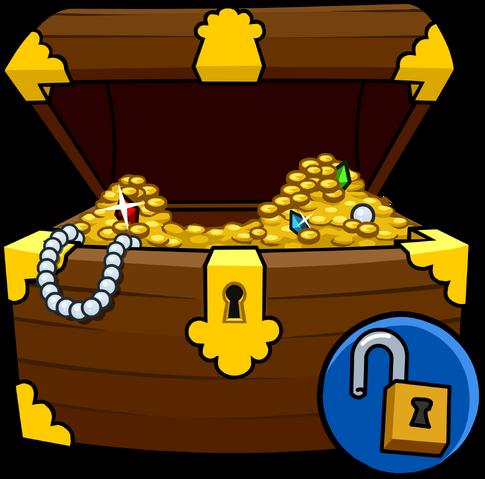 File:Treasure Chest Costume unlockable icon.png