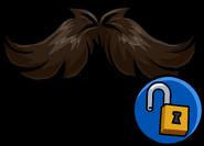 Curly Moustache unlockable icon