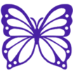 Decal Butterfly icon