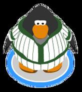 Green Baseball Uniform ingame
