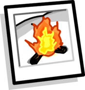 Campfire Background icon