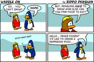 The Fourth Ever Club Penguin Comic