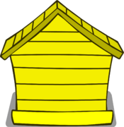 Yellow Puffle House sprite 003