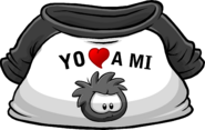 I Heart My Black Puffle T-Shirt icon es