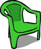 Green Plastic Chair sprite 005