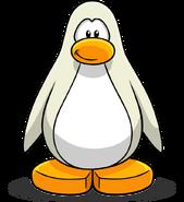 Custom made white penguin
