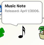 MusicNoteStampbook