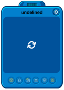 Undefined player card