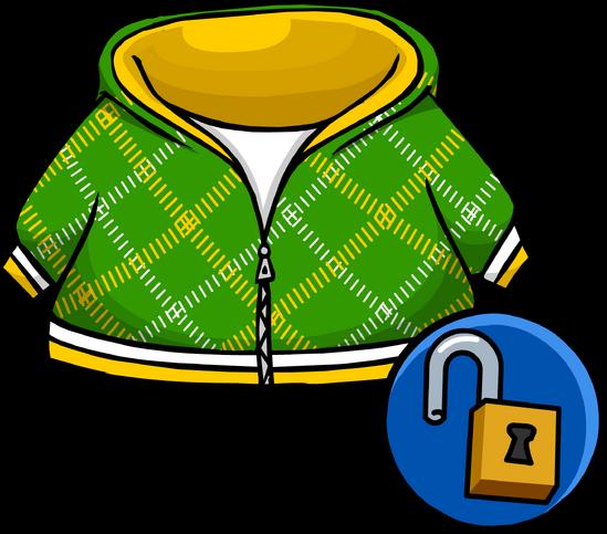 File:Green Crosshatch Hoodie unlockable.png