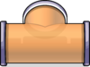 T-joint Puffle Tube sprite 059