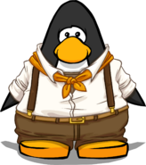 Junior Explorer Outfit On Player Card