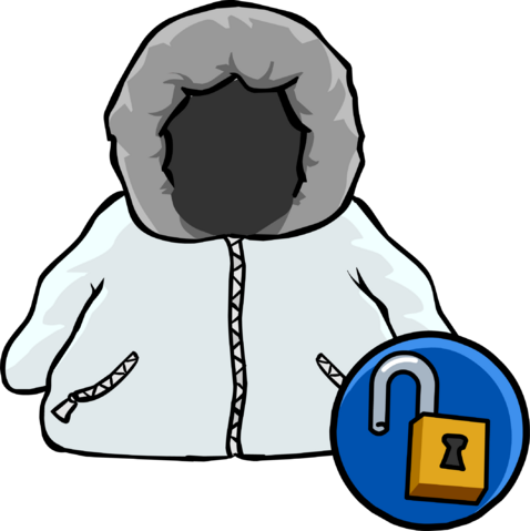 File:White Parka Icon 14035.png