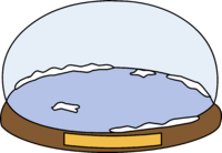 Snow Globe Igloo icon