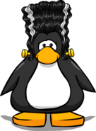 The Lady Frankenpenguin from a Player Card