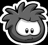 Black Puffle Pin 1