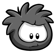 Black Puffle Pin 1