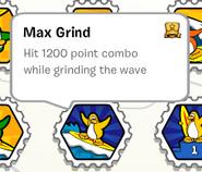 Max grind stamp book