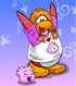 Sporty Pink Puffle card image