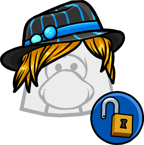 File:Blue Stripe Fedora clothing icon ID 11166 updated.png