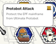Protobot attack stamp book