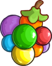 Rainbow Puffle Wild Berry CP Times