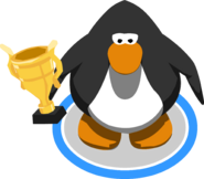 Trophy in-game