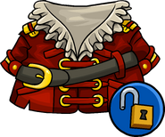 Swashbuckler's Coat unlockable icon