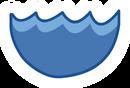 CJ water icon