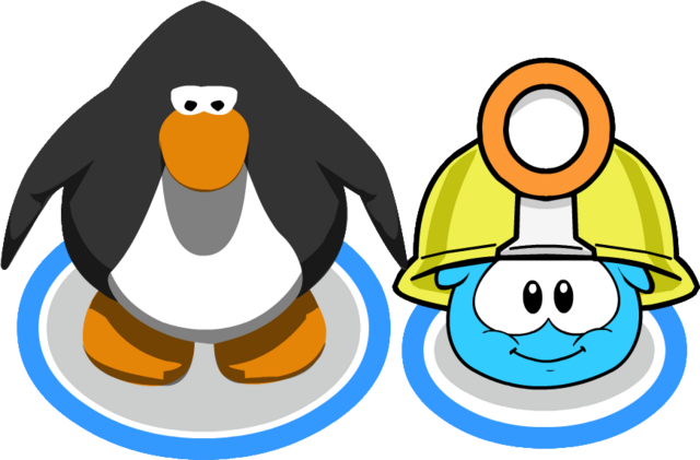 File:Mining Helmet (Puffle Hat) In-Game.png