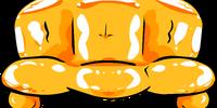 Orange Inflatable Sofa