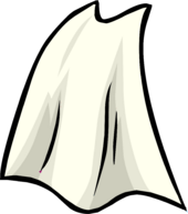 White Cape clothing icon ID 3105