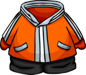 Orange Snowsuit icon