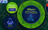 Super Villain Interface