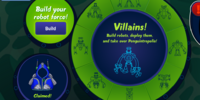 Super Villain Interface