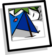 Camping Background icon