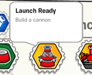 Launch ready stamp book
