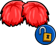 Red Pompom (Unlockable)