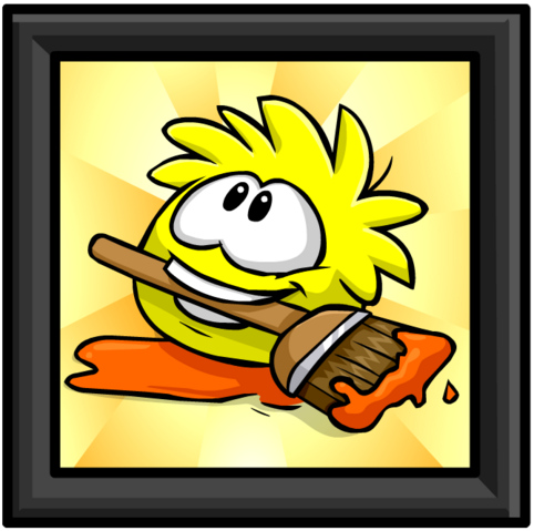 File:Yellow Puffle Picture furniture icon ID 672.png