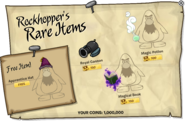 Rockhopper's Rare Items September 2013