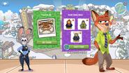 Zootopia Party app login dialogue