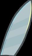 Silver Surfboard