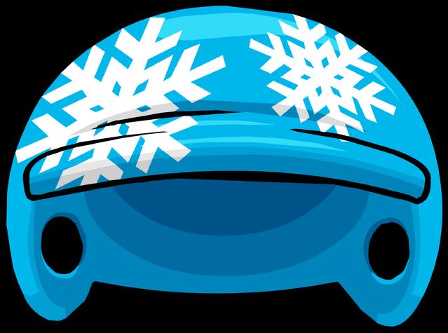 File:Snowflake Helmet.png