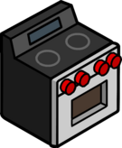 Brushed Steel Oven icon