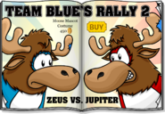 Team Blue's Rally 2 Zeus vs. Jupiter
