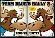 Team Blue's Rally 2 Zeus vs. Jupiter