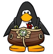 Migrator Mascot Costume from a Player Card