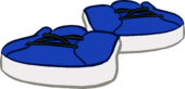 Royal Blue Sneakers icon