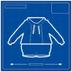 Blueprint hoodieAndVest icon