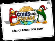 Coins For Change Card full award fr