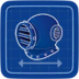Blueprint Diving Helmet icon